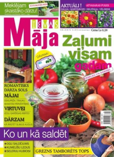 IEVAS MĀJA Nr. 16 2010