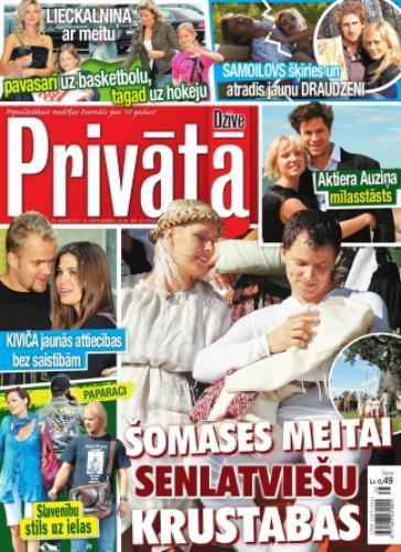 PRIVĀTĀ DZĪVE Nr. 35 2010