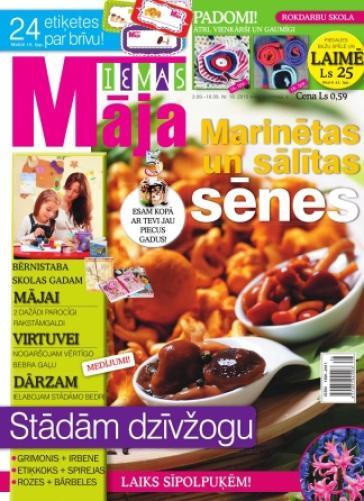 IEVAS MĀJA Nr. 18 2010