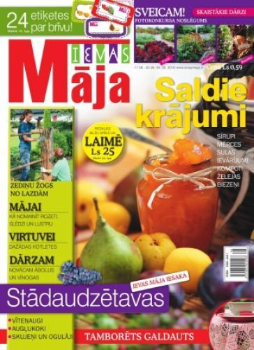 IEVAS MĀJA Nr. 19 2010