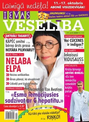 IEVAS VESELĪBA Nr. 21 2010