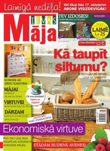 IEVAS MĀJA Nr. 21 2010