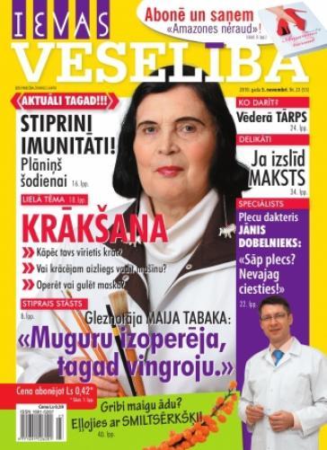 IEVAS VESELĪBA Nr. 23 2010