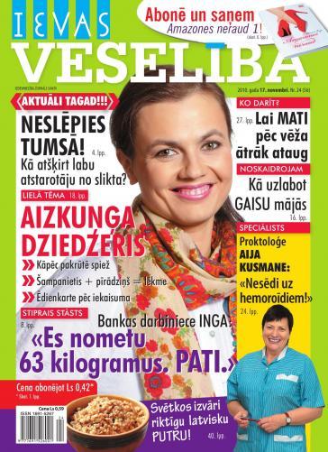 IEVAS VESELĪBA Nr. 24 2010