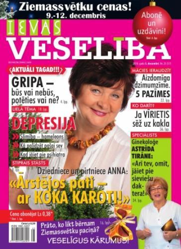 IEVAS VESELĪBA Nr. 25 2010