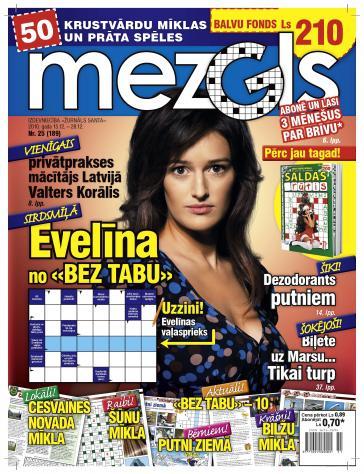MEZGLS Nr. 25 2010