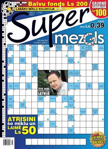 Supermezgls Nr. 1 2011