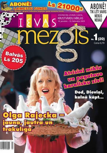 IEVAS MEZGLS Nr. 1 2009