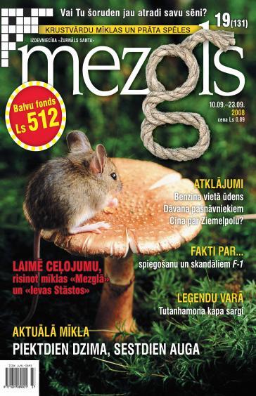 MEZGLS Nr. 19 2008