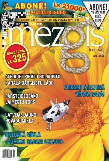 MEZGLS Nr. 1 2009