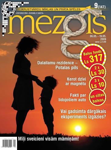 MEZGLS Nr. 9 2009