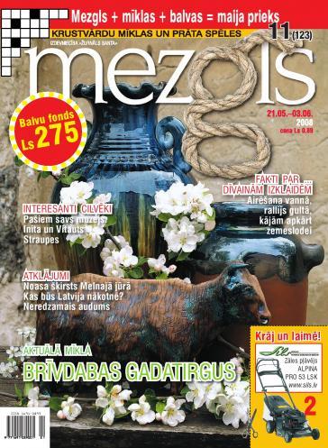 MEZGLS Nr. 11 2008