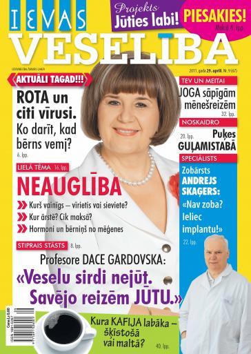 IEVAS VESELĪBA Nr. 9 2011