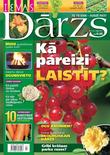 IEVAS DĀRZS Nr. 3 2011