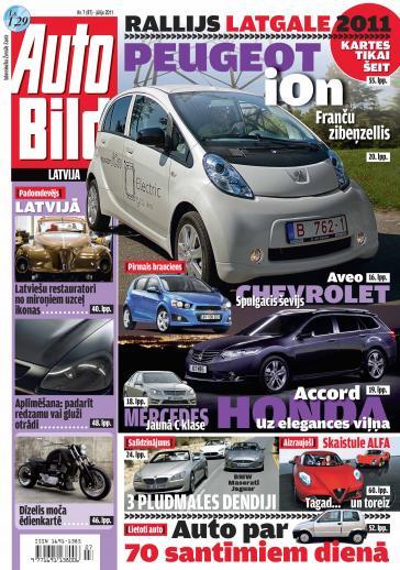 AUTO BILD LATVIJA Nr. 7 2011