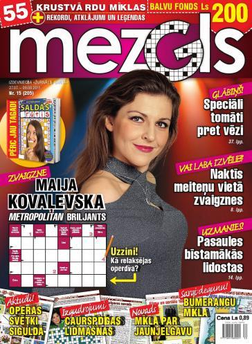 MEZGLS Nr. 15 2011