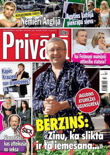 PRIVĀTĀ DZĪVE Nr. 33 2011