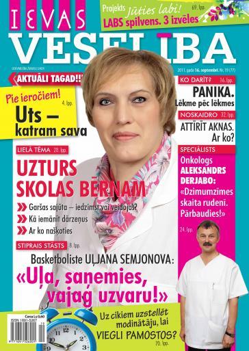 IEVAS VESELĪBA Nr. 19 2011