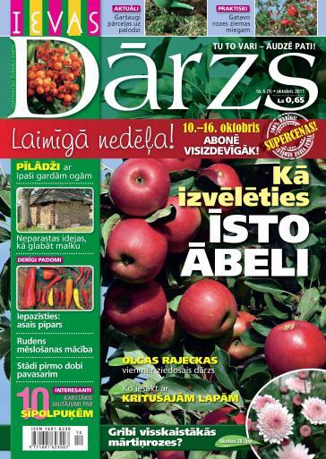 IEVAS DĀRZS Nr. 6 2011