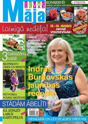 IEVAS MĀJA Nr. 19 2011