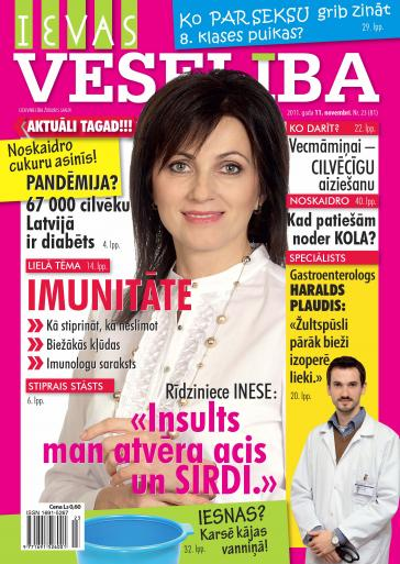 IEVAS VESELĪBA Nr. 23 2011