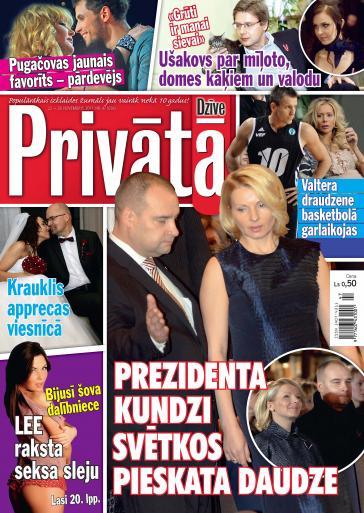 PRIVĀTĀ DZĪVE Nr. 47 2011