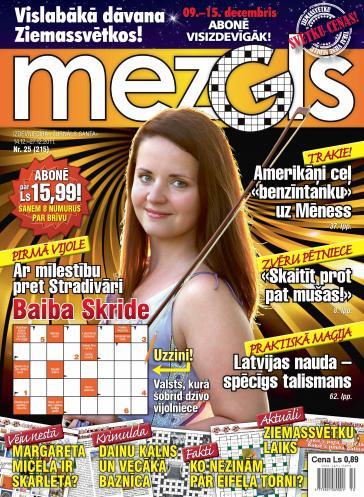 MEZGLS Nr. 25 2011