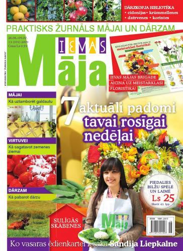 IEVAS MĀJA Nr. 13 2009