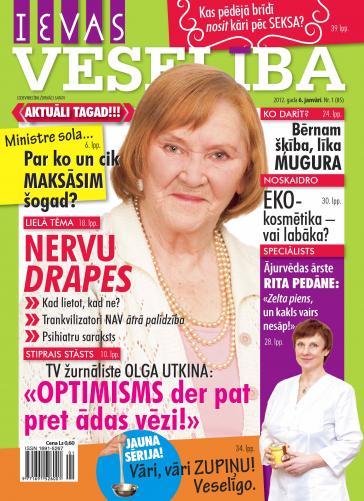 IEVAS VESELĪBA Nr. 1 2012