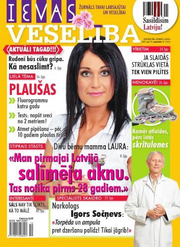 IEVAS VESELĪBA Nr. 19 2009
