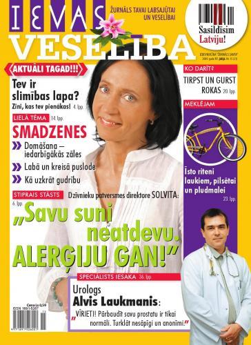 IEVAS VESELĪBA Nr. 15 2009