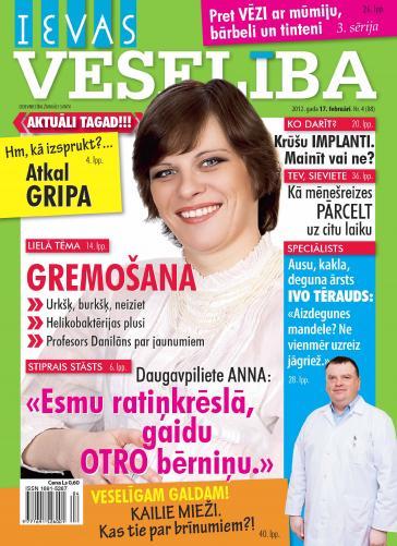 IEVAS VESELĪBA Nr. 4 2012