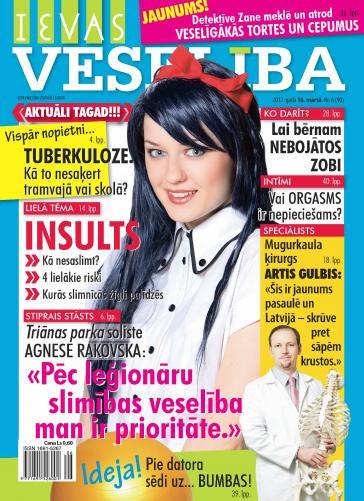 IEVAS VESELĪBA Nr. 6 2012