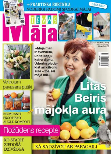 IEVAS MĀJA Nr. 6 2012