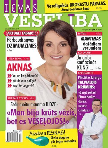 IEVAS VESELĪBA Nr. 9 2012