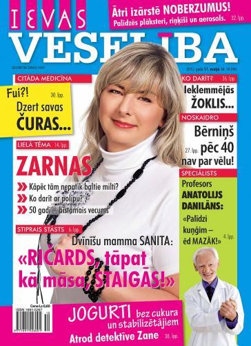 IEVAS VESELĪBA Nr. 10 2012
