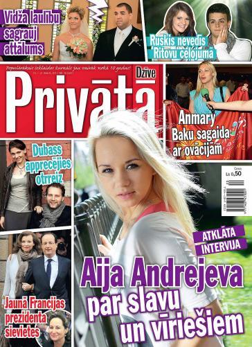 PRIVĀTĀ DZĪVE Nr. 20 2012