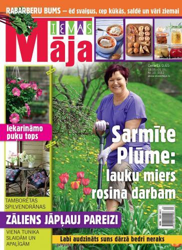 IEVAS MĀJA Nr. 10 2012