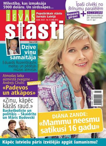 IEVAS STĀSTI Nr. 13 2012