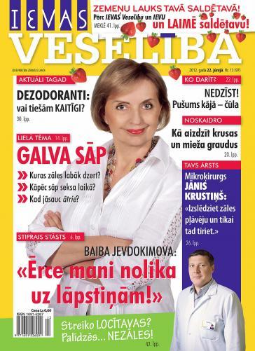 IEVAS VESELĪBA Nr. 13 2012