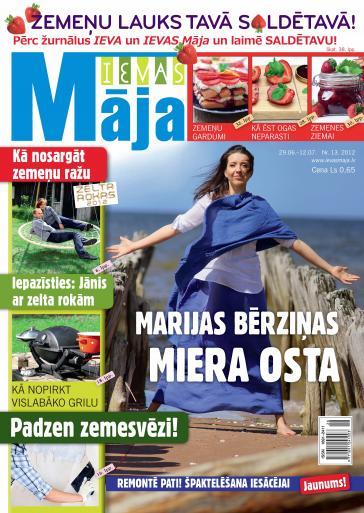 IEVAS MĀJA Nr. 13 2012