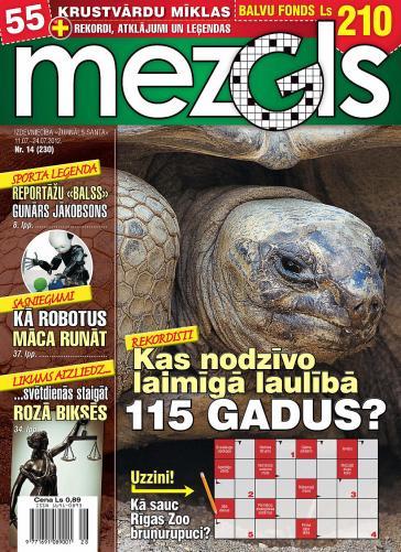 MEZGLS Nr. 14 2012