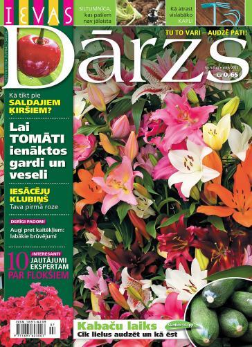 IEVAS DĀRZS Nr. 5 2012