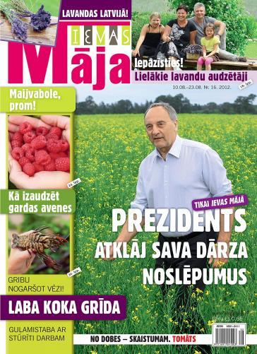 IEVAS MĀJA Nr. 16 2012