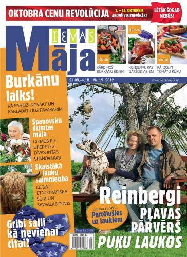 IEVAS MĀJA Nr. 19 2012