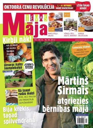 IEVAS MĀJA Nr. 20 2012