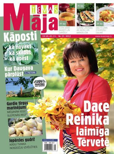 IEVAS MĀJA Nr. 21 2012