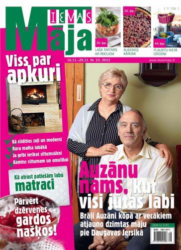 IEVAS MĀJA Nr. 23 2012