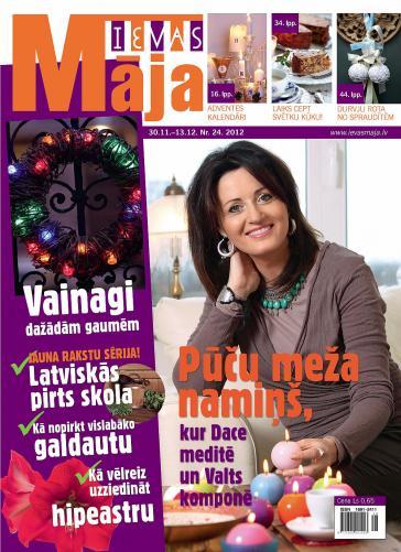 IEVAS MĀJA Nr. 24 2012