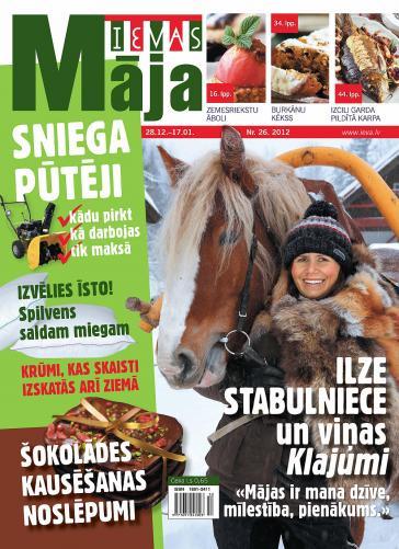 IEVAS MĀJA Nr. 26 2012